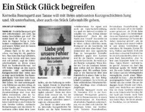 Mecklenburgische Zeitung 8. 10. 2015